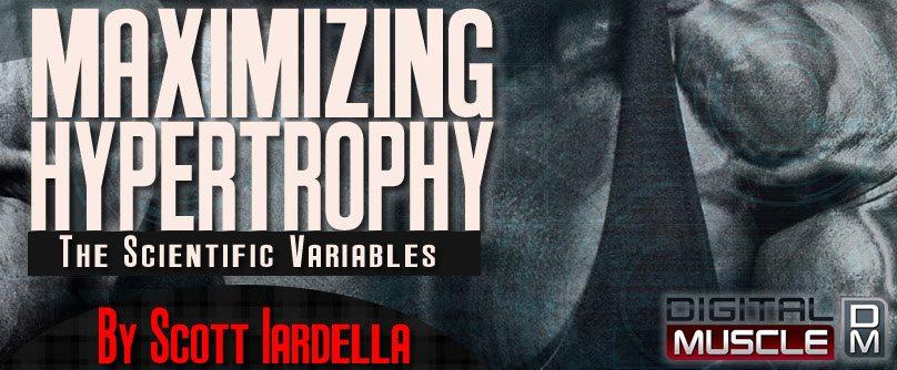 maximizing hypertrophy