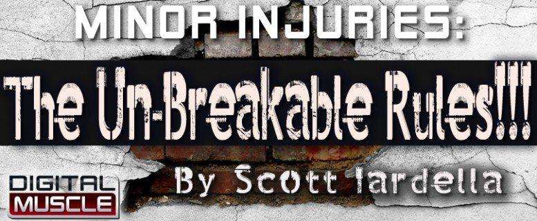 Las lesiones de menor importancia, reglas irrompibles para la total recuperacion Scoot131-777x321