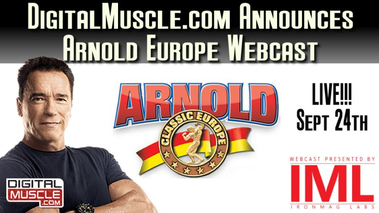 Arnold Europe Webcast Graphic