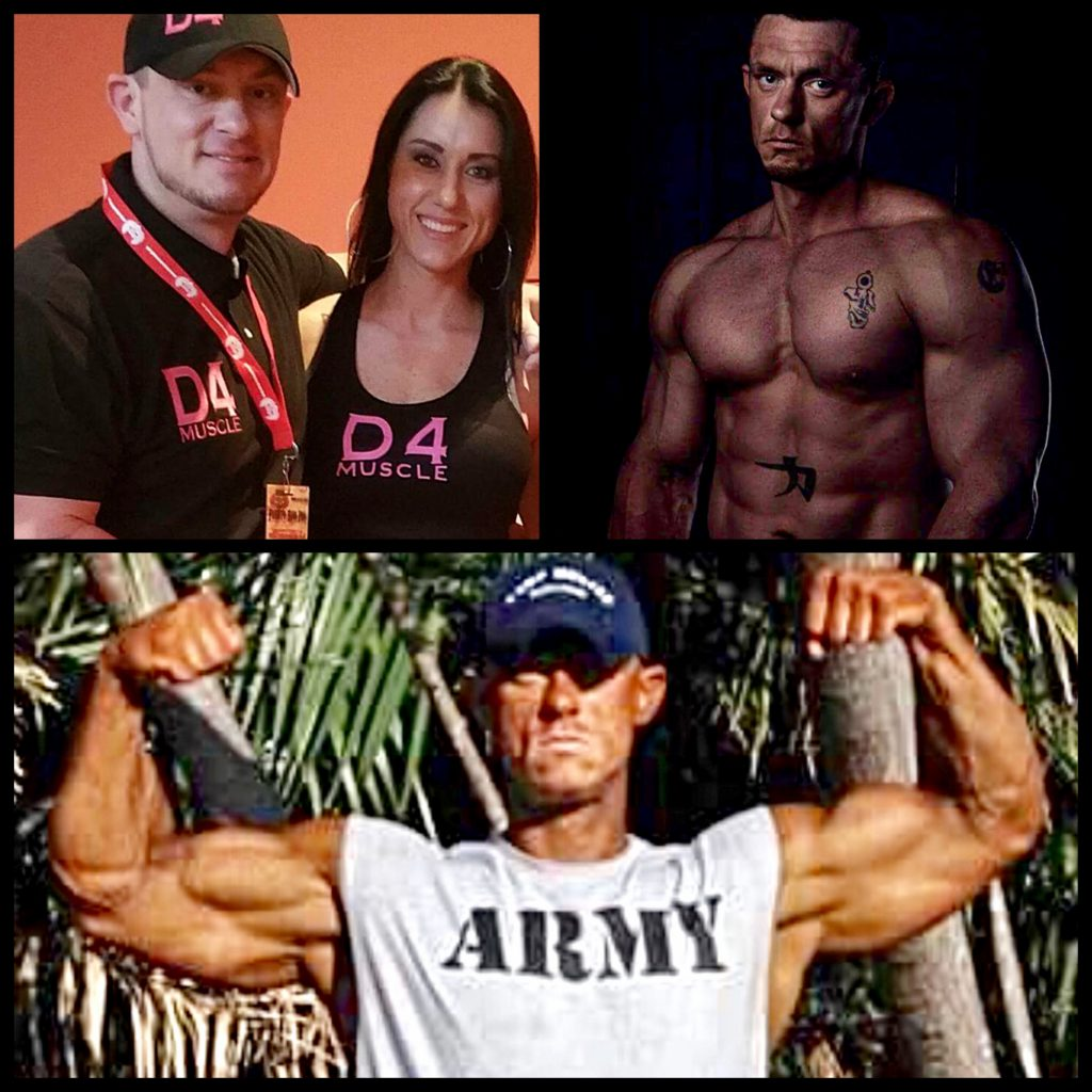 Dan Eslinger Created his D4 Training Team years after being awarded the Purple Heart for service to his country.