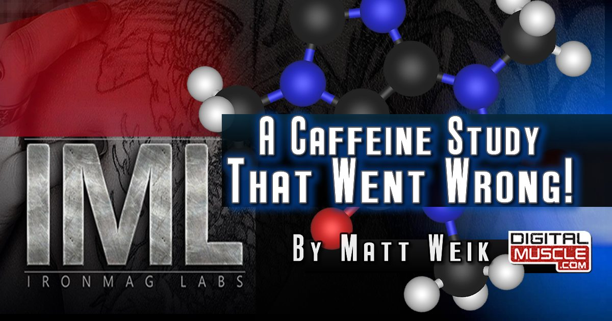 case study caffeine in the Studies showing how caffeine enhances athletic performance and weight training a study published in in this case caffeine was ingested prior to the run.