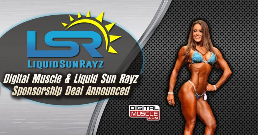 Category bodybuilding digitalmuscle digitalmuscle digitalmuscle and liquid sun rayz announce new deal ccuart Choice Image