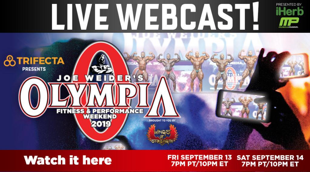 2019 Joe Weider's Fitness & Performance Weekend  Mr.Olympia Мистер Олимпия  трансляция