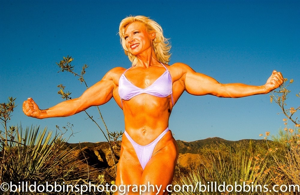 """Ms. Olympia from the Ukraine """"I'll beat Cancer!"""""""