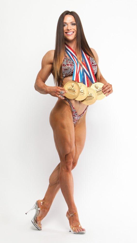 Monday Night Muscle- 4X Ms. Fitness Olympia, Oksana Grishina