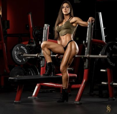 "2X Ms. Bikini Olympia, Angélica Teixeira ""The Ultimate Fighter"""