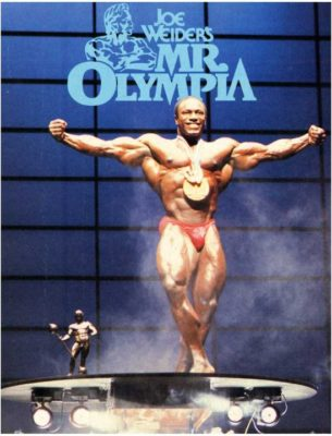 """Lee Haney """"The G.O.A.T"""""""